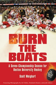 Burn the Boats is about BU hockey's national championship
